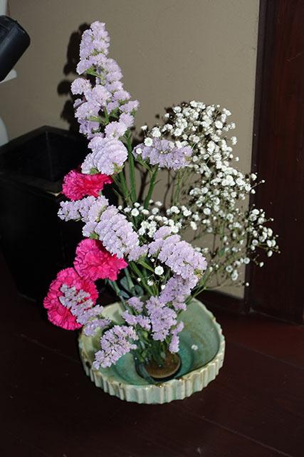 1月の生け花です。