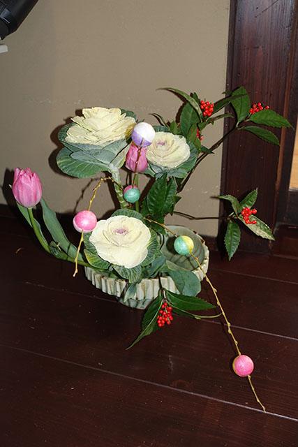 正月用の花をセレクトしました